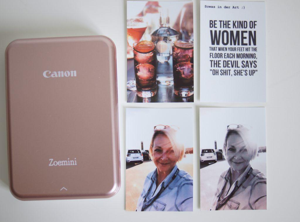 Canon Zoemini Zink Drucker im Test