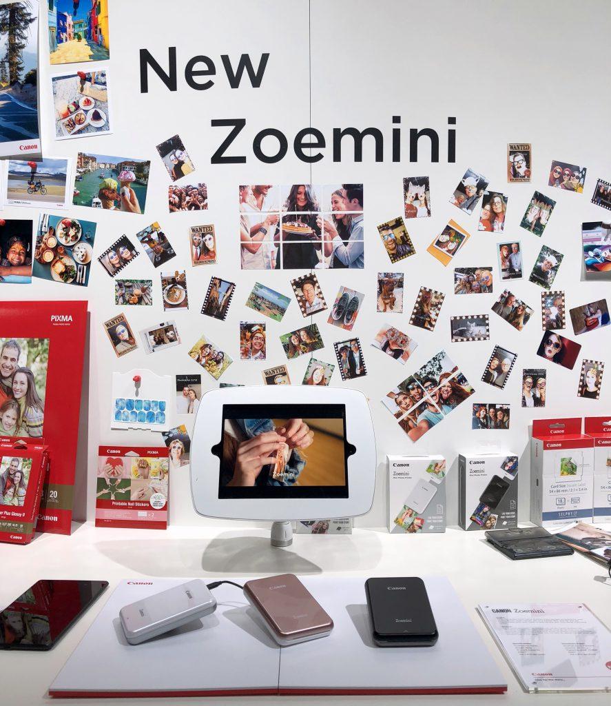 Der Zoemini von Canon, ein Fun-Drucker für unterwegs