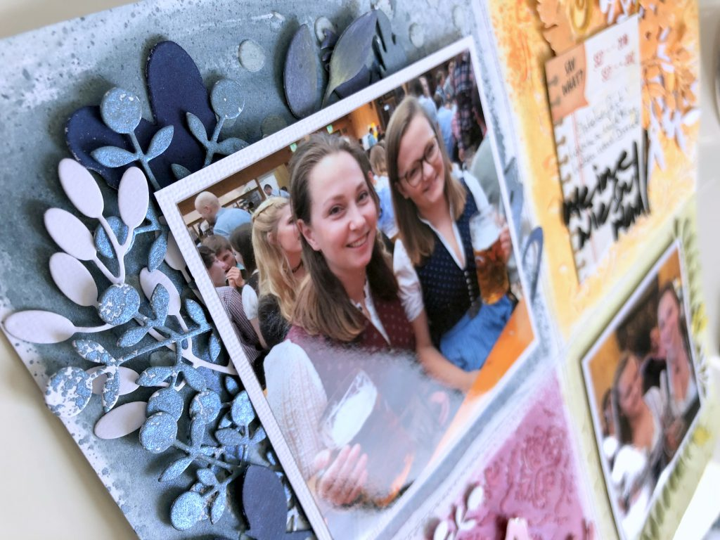 Mixed Media Layout barb@home Scrapbooking Workshop