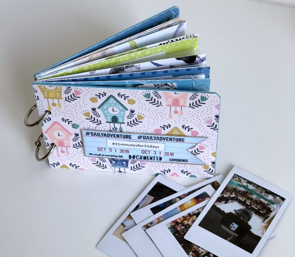 Instax Mini Album barb@home Scrapbooking Workshop