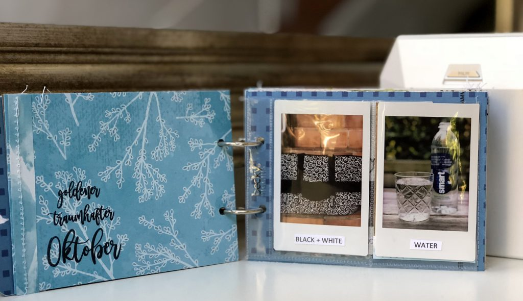 Instax Mini Album Scrapbooking barb@home Workshop