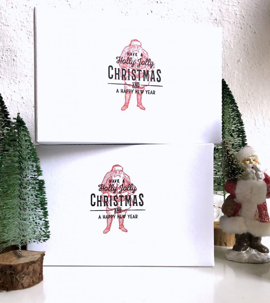 Buntbox Geschenkboxen individuell mit Stempeln gestaltet