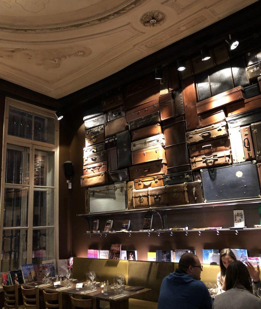 Brüssel Le Cercle des Voyageurs Restaurant Bar