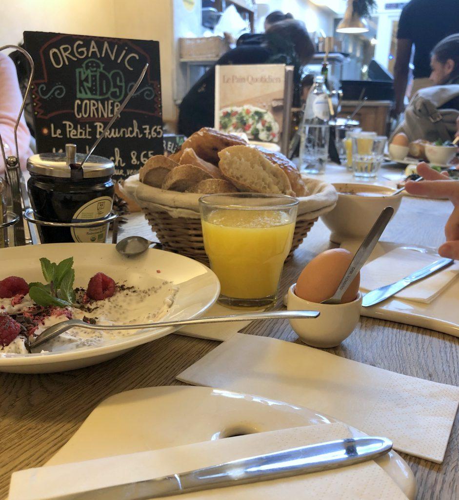 Brüssel Frühstück Le Pain Quotidien