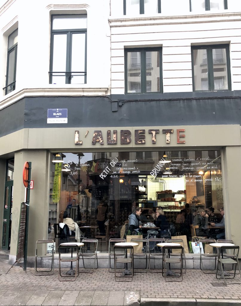 Restaurant Brunch L'Aubette Brüssel