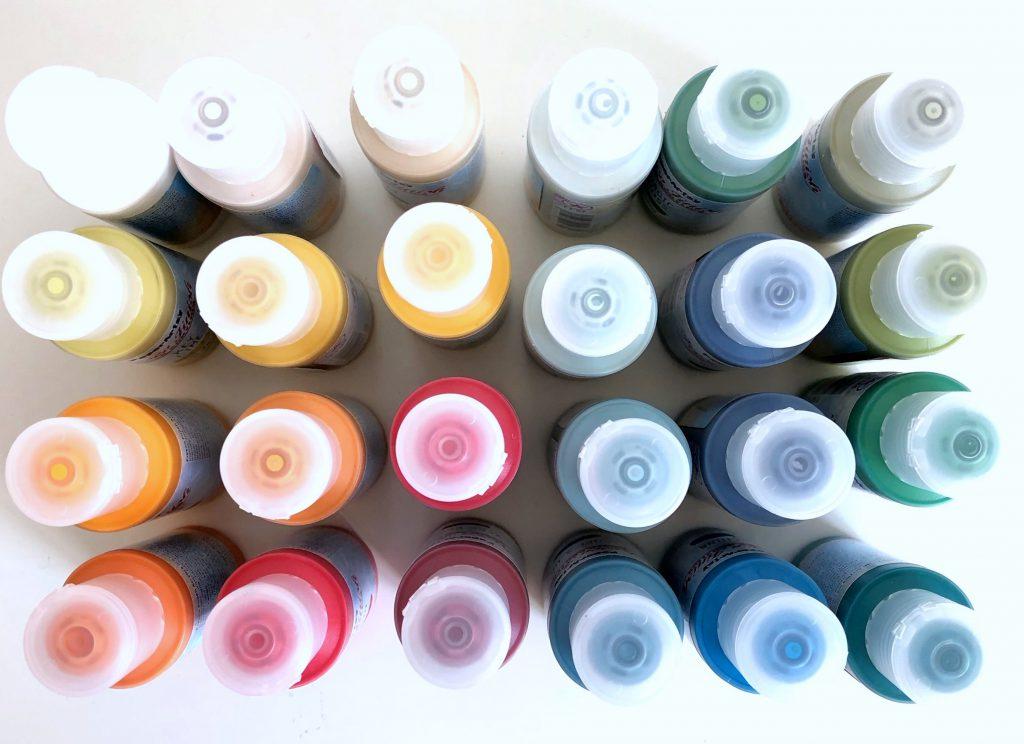 Chalk Paint Acrylfarben Paper Artsy