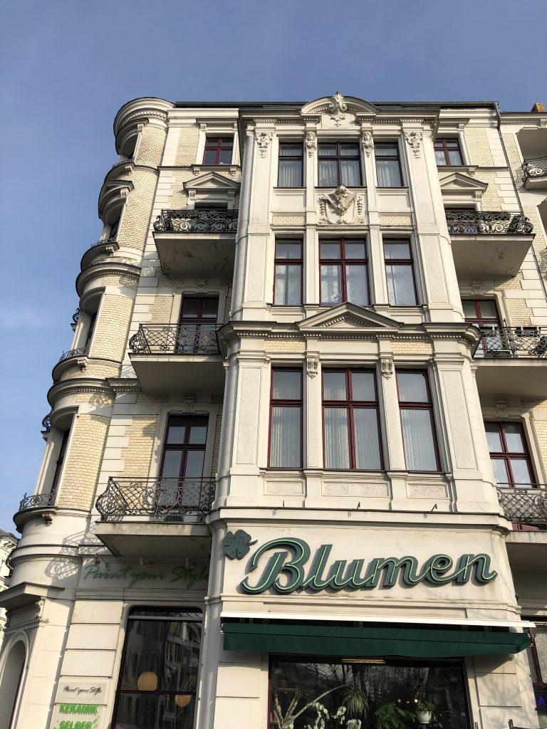unbearbeitet Berlin Neukölln Häuserfront