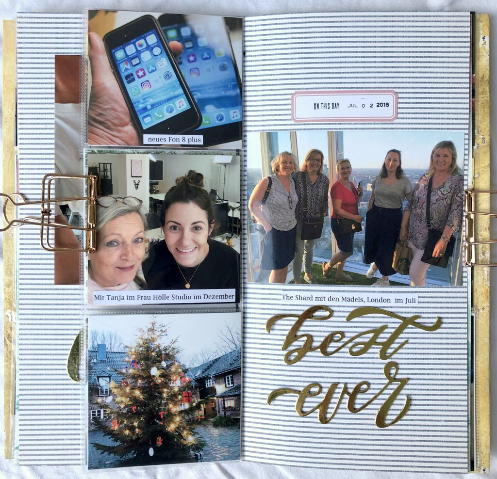 Crop Am Rhein 2019 Scrapbooking Event Mini Album Workshop