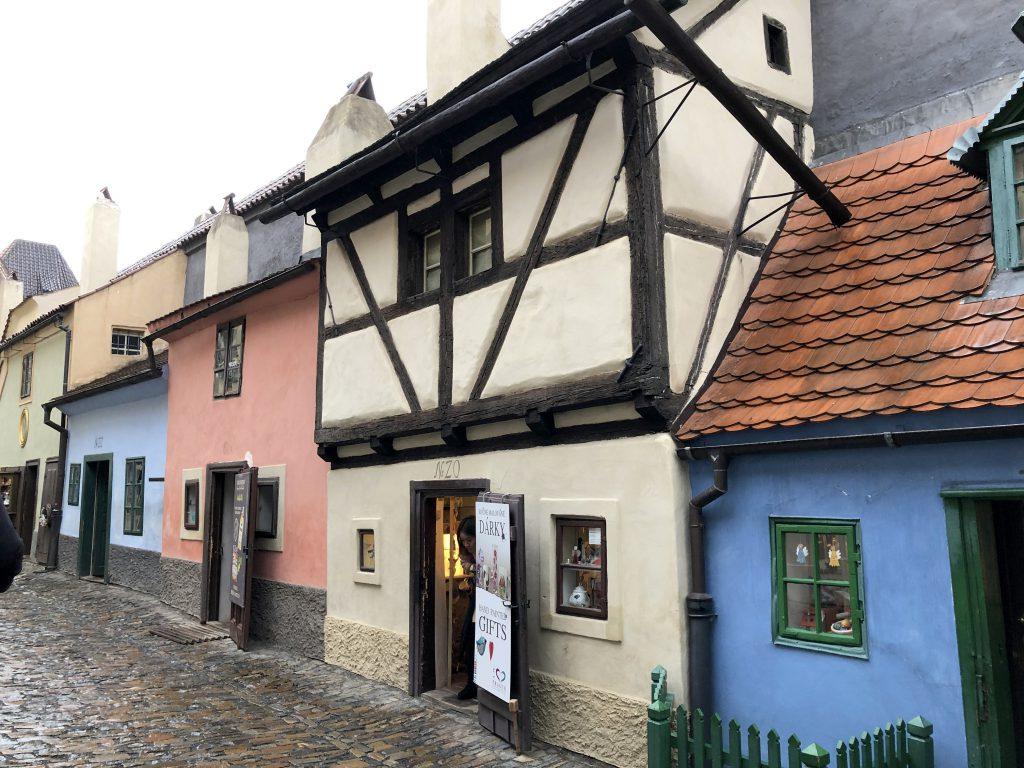 Bunte Gasse Prager Burg