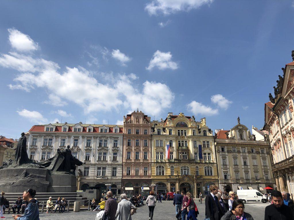 Prag Rathausplatz