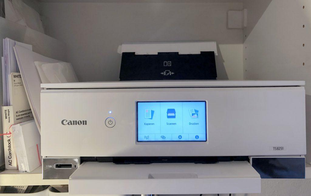 Fotodrucker Erfahrungsbericht Canon Pixma TS 8251
