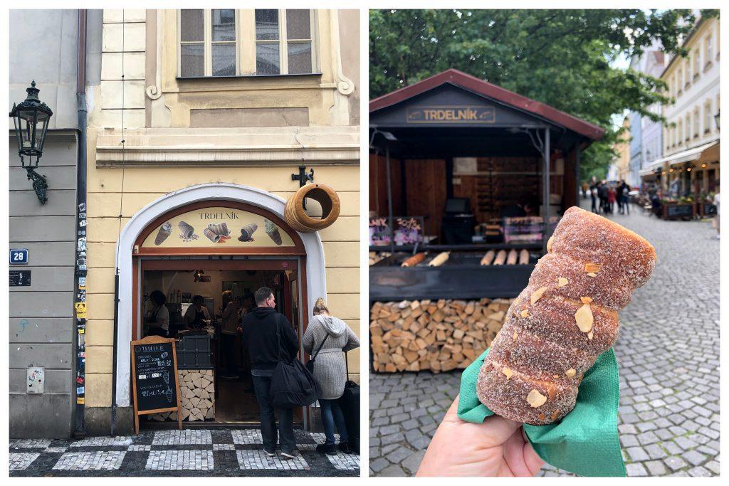 Trdelnik in Prag