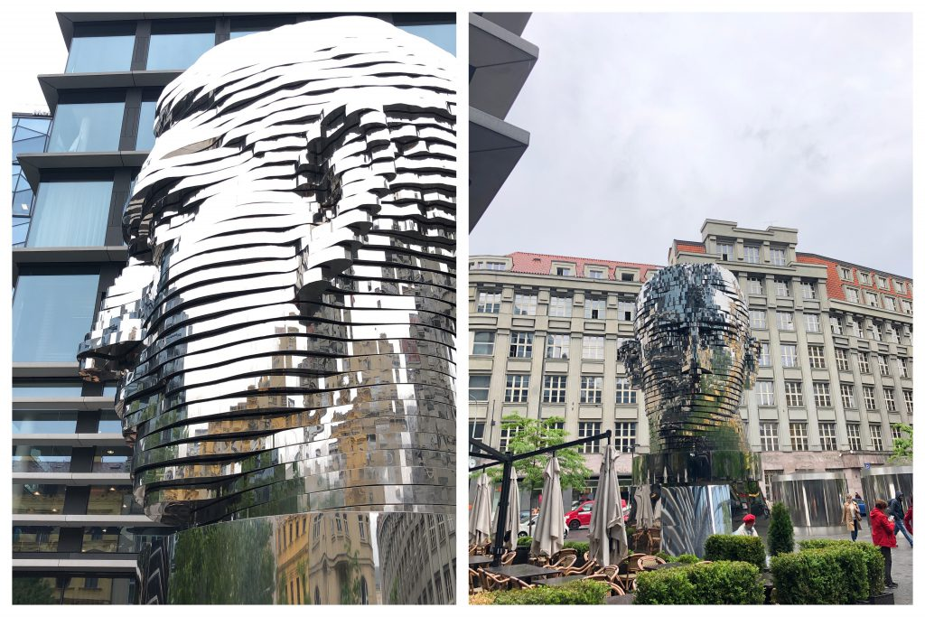 Kafka Kopf Skulptur Prag