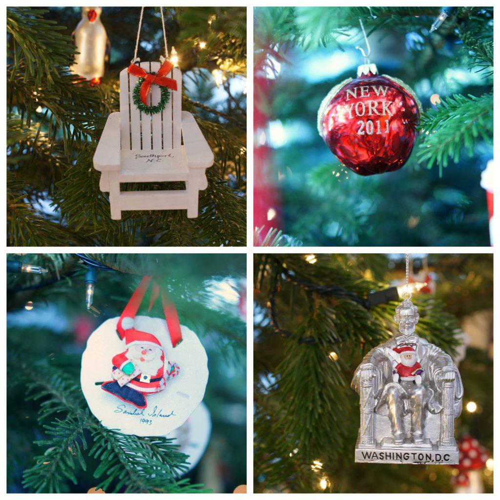 Weihnachtliche Souvenirs für den Tannenbaum