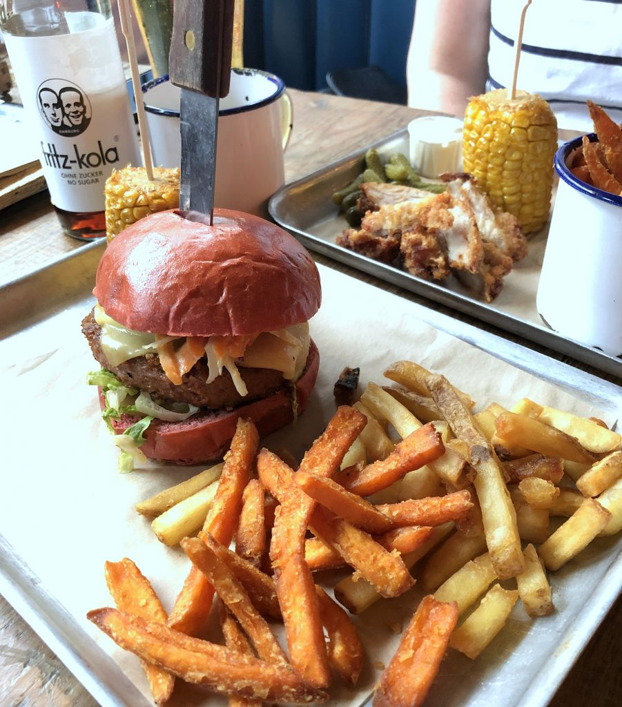 Brewdog Shoredich Brick Lane Beyond Meat Burger