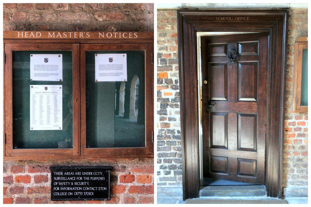 Eton College School Door
