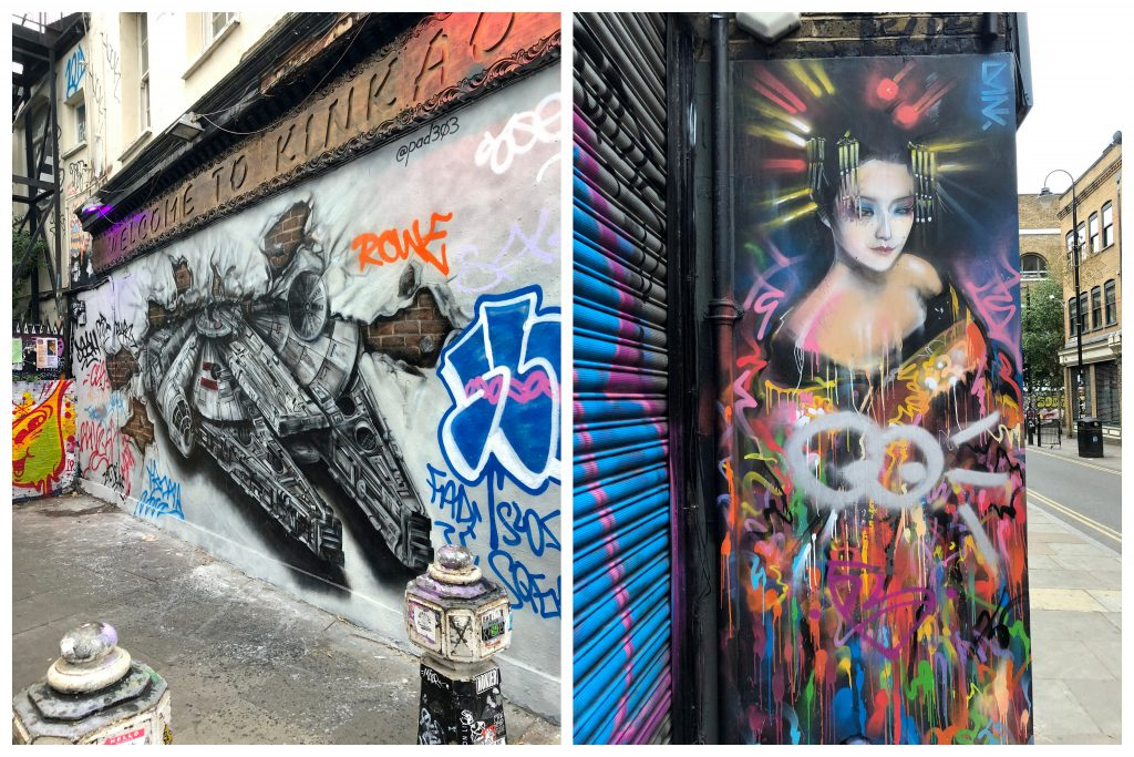 London Shoredich Street Art