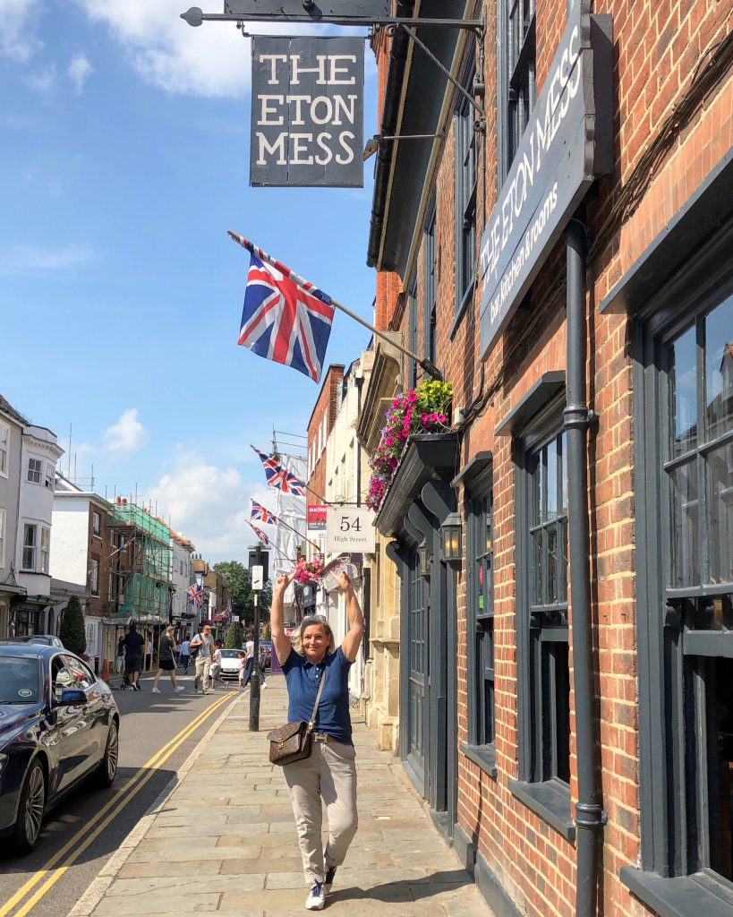 High Street Eton England