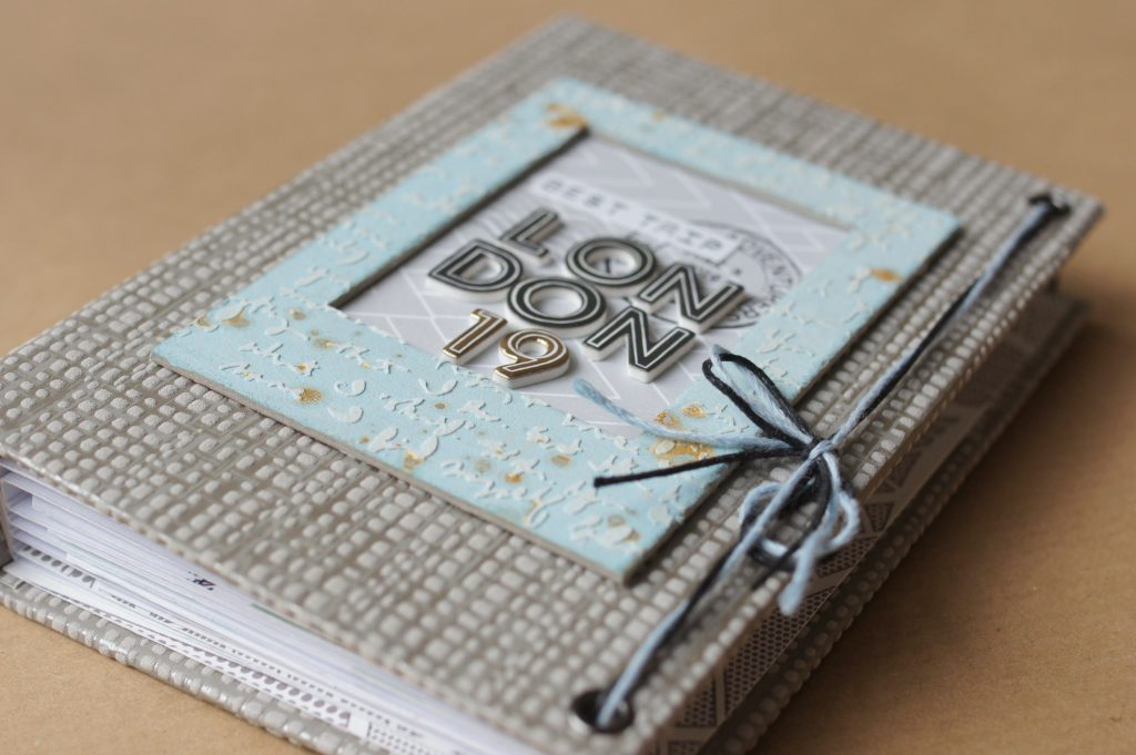 Scrapbook selbstgemacht London