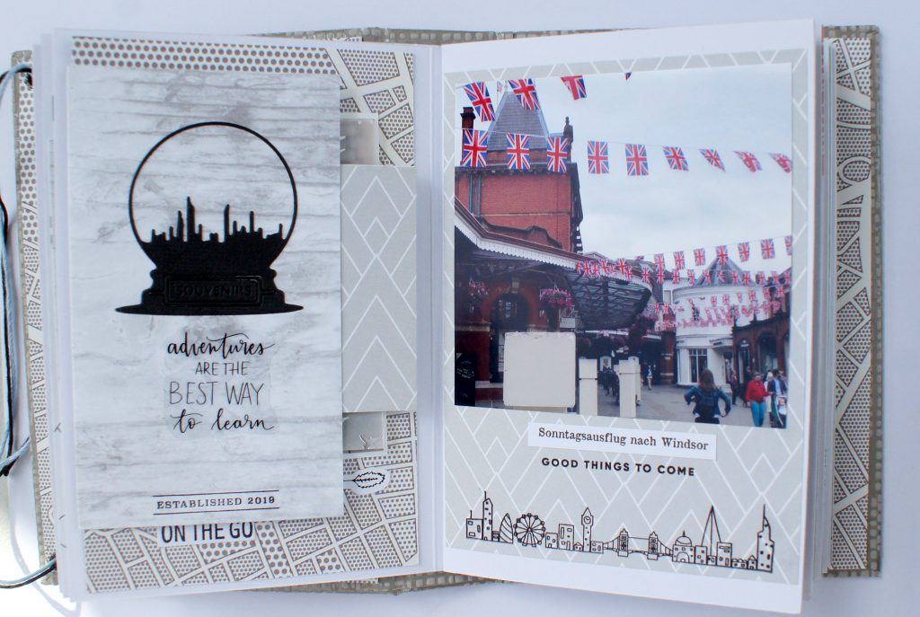 Scrapbooking Minialbum London