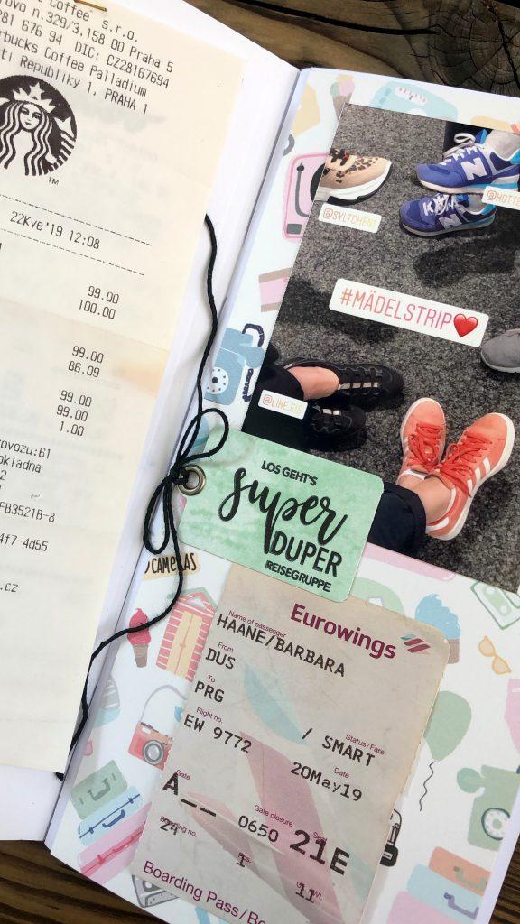 Scrapbooking Reisetagebuch Notebook Studio Forty