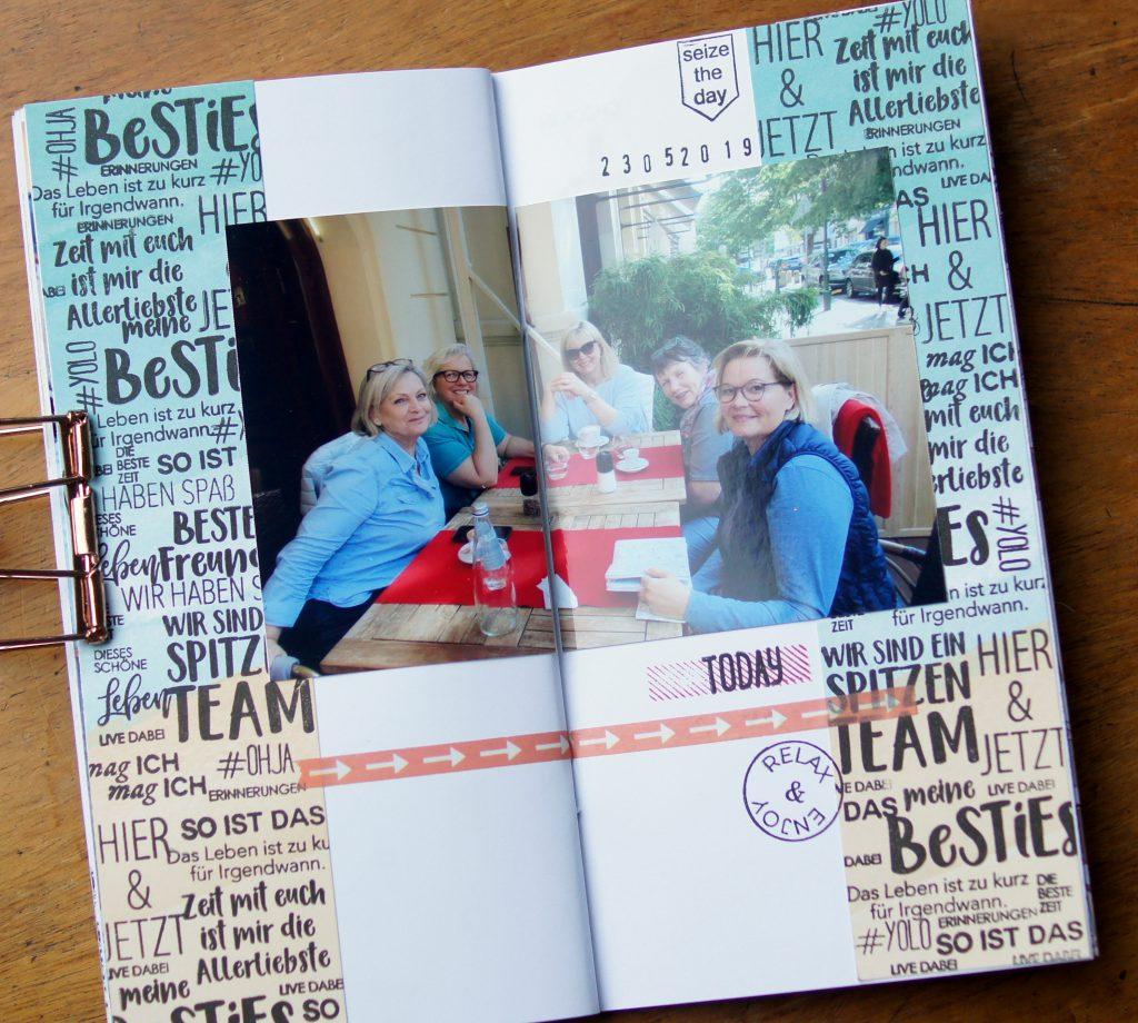 Traveljournal Prag Klartext Dani Peuss Stempel