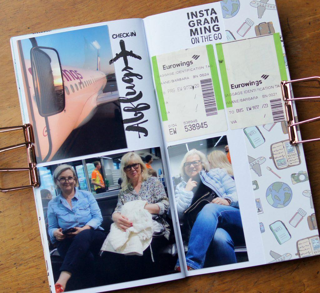 Klartext Stempel Travel Journal
