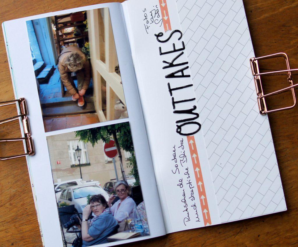 Travel Journal Prag Reisealbum
