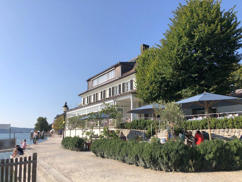 Tegernsee Schlosscafe Aran Bayern