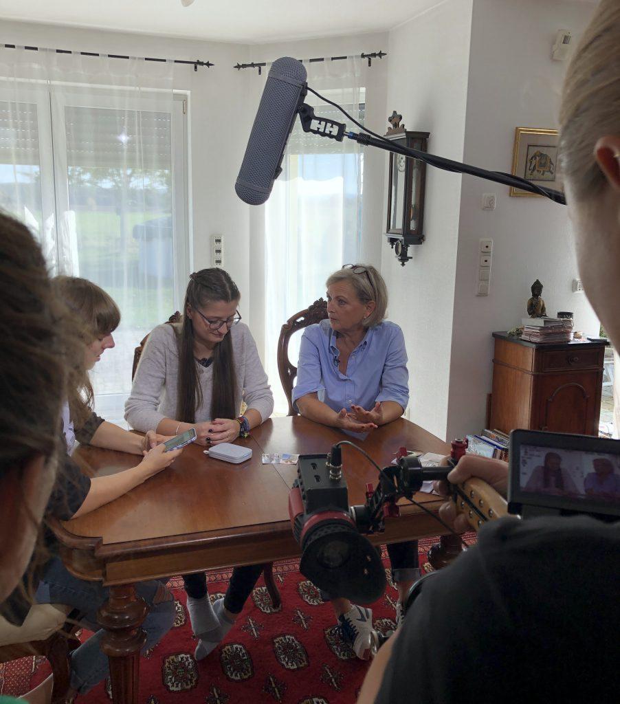 Scrapbooking Fernseh Dreh für ZDF Volle Kanne