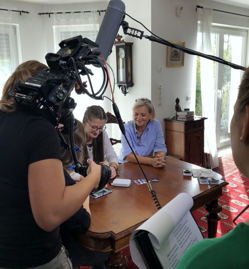 Scrap-Impulse Fernseh Dreh für ZDF Volle Kanne