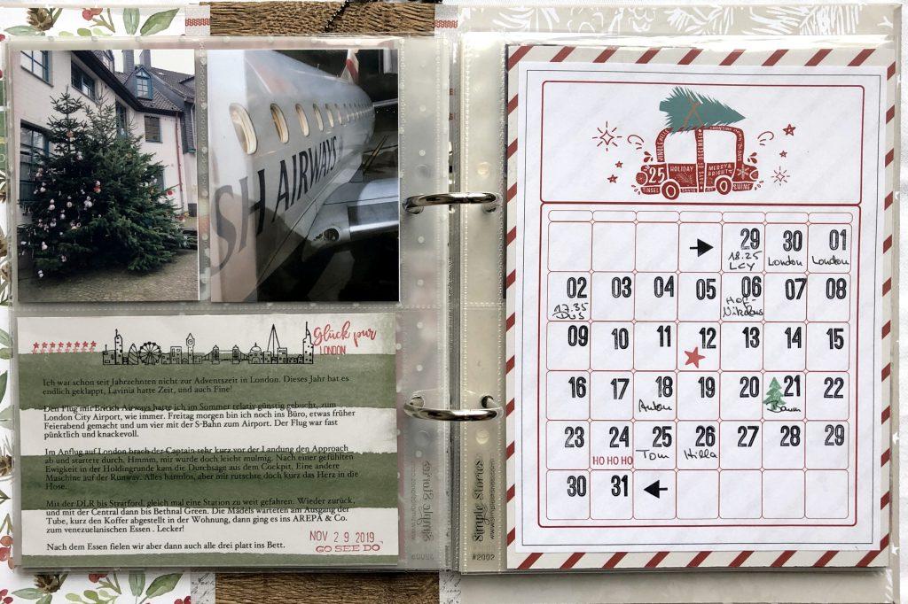 Dezembertagebuch 2019 Doppelseite 5