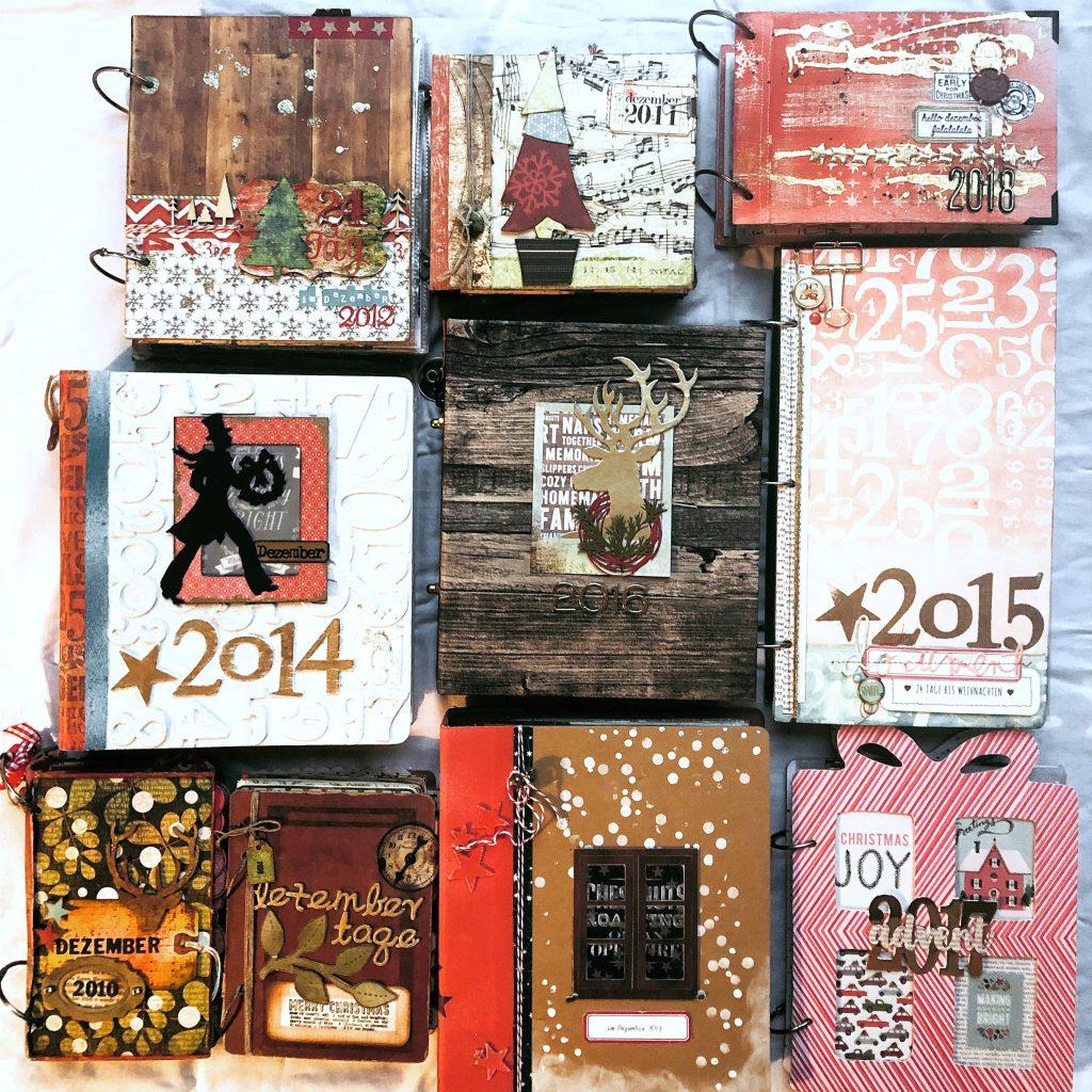 Dezembertagebücher 2009 bis 2018 Barbara Haane