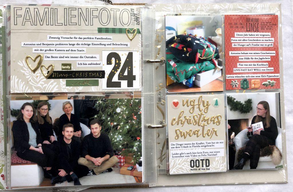 Dezembertagebuch 2019 Heiligabend Christmas Sweater