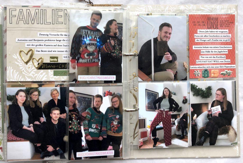 Dezembertagebuch 2019 Heiligabend Christmas Sweater Screenshots