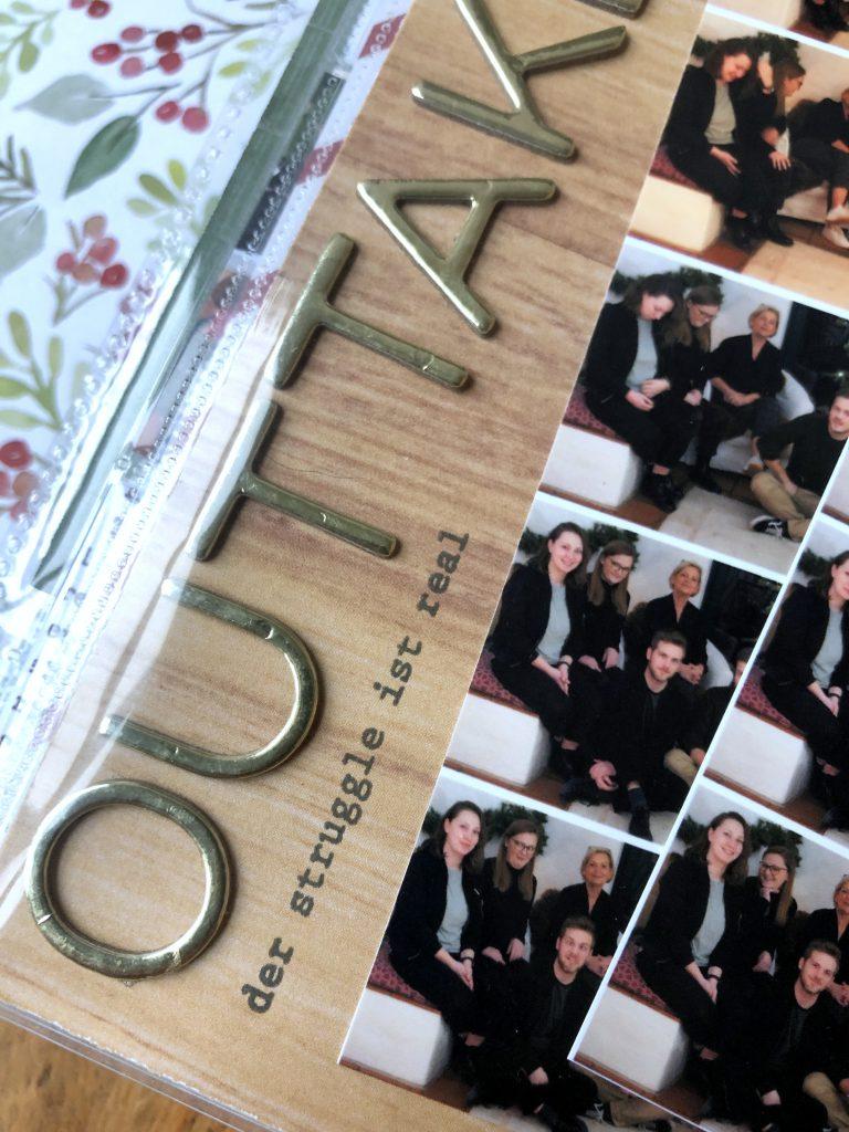 Dezembertagebuch 2019 Tag 24 Familienfoto Detail