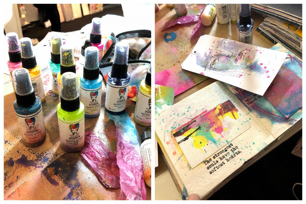 Ranger Dina Wakely Media Gloss Spray Paint