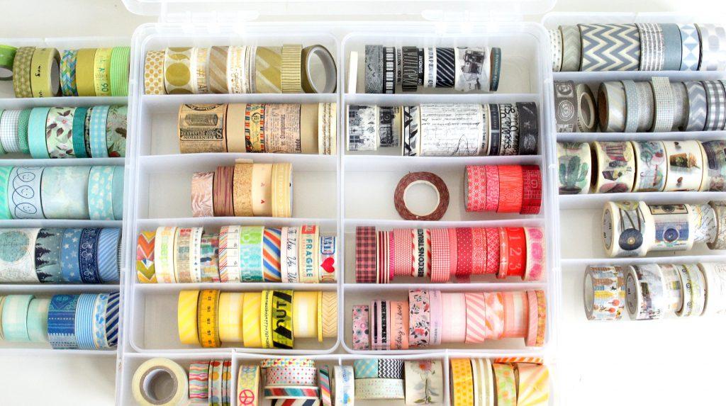 Aufbewahrung Washi Tape Storage Bin We R Memory Keepers