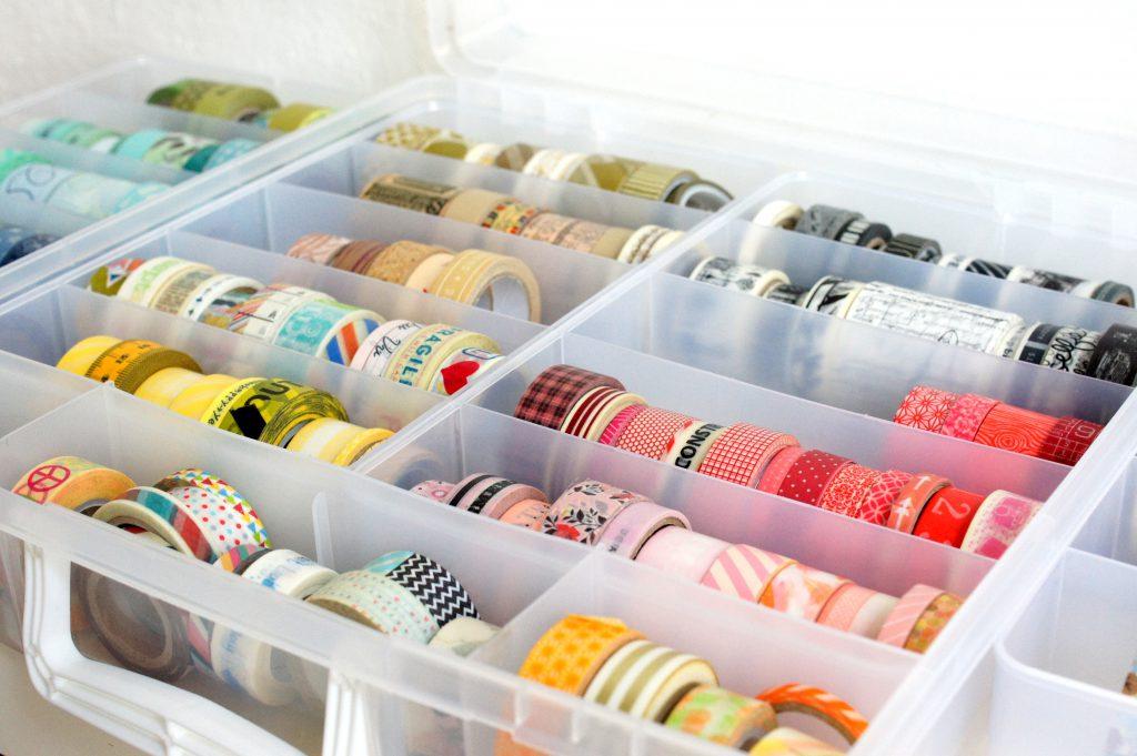 Washi Tape Storage Bin We R Memory Keepers