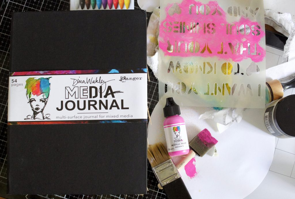 Art Journal Ranger Dina Wakley
