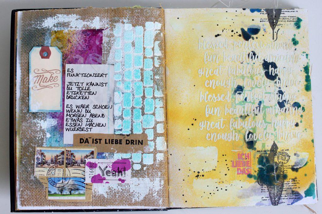 Art Journal Dina Wakley