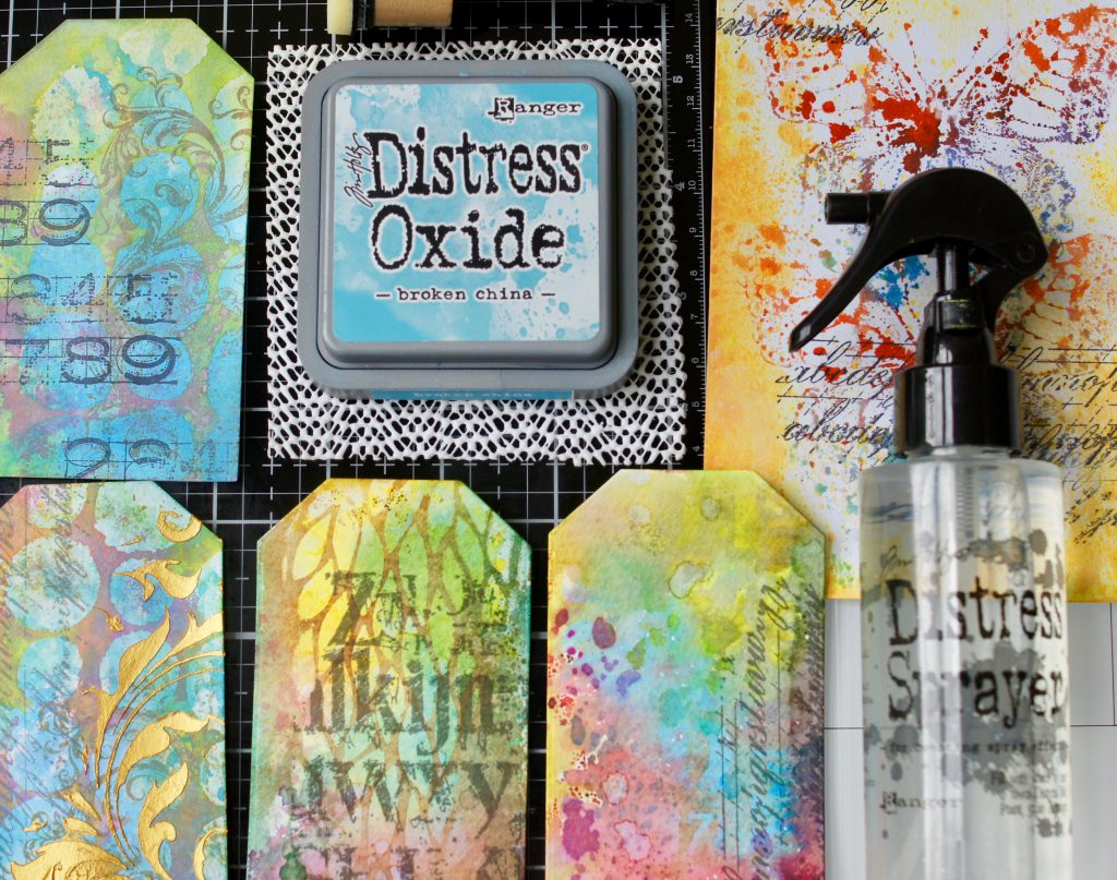 Tim Holtz Glass Media Mat mit Anti Rutsch Matte