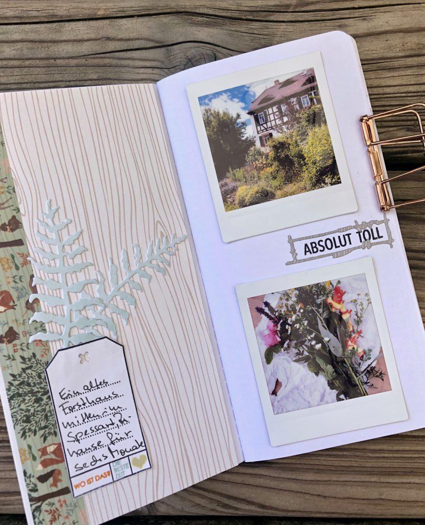Schnelles Reisealbum mit Instax Fotos Seite 3