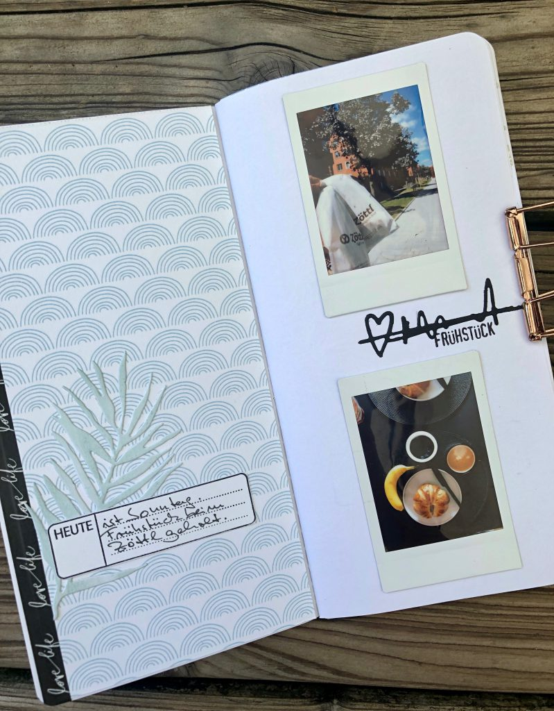 Einfaches Travel Journal mit Instax Fotos Seite 4