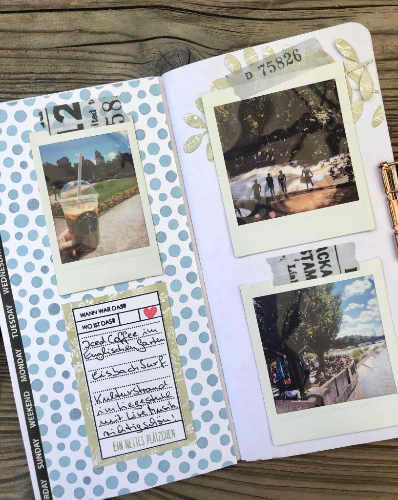Einfaches Travel Journal mit Instax Fotos Seite 6