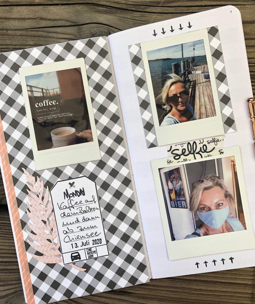 Einfaches Travel Journal mit Instax Fotos Seite 7