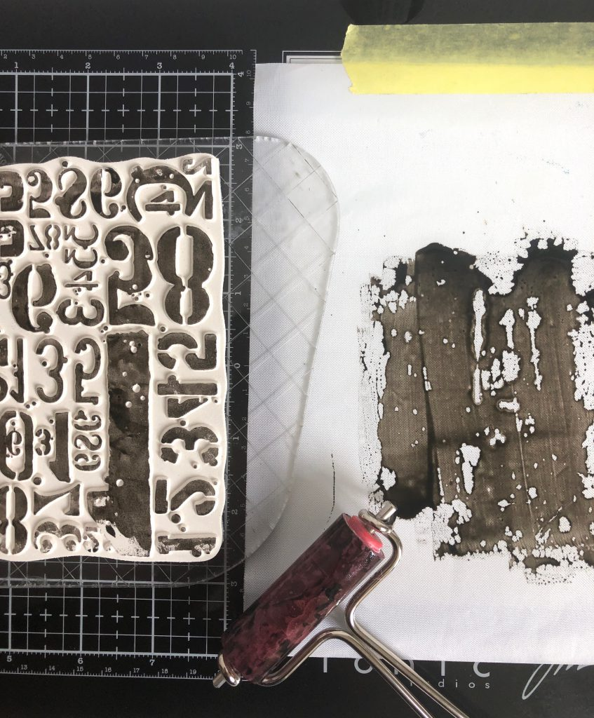 Heidi Swapp Minc Toner Ink Anwendung