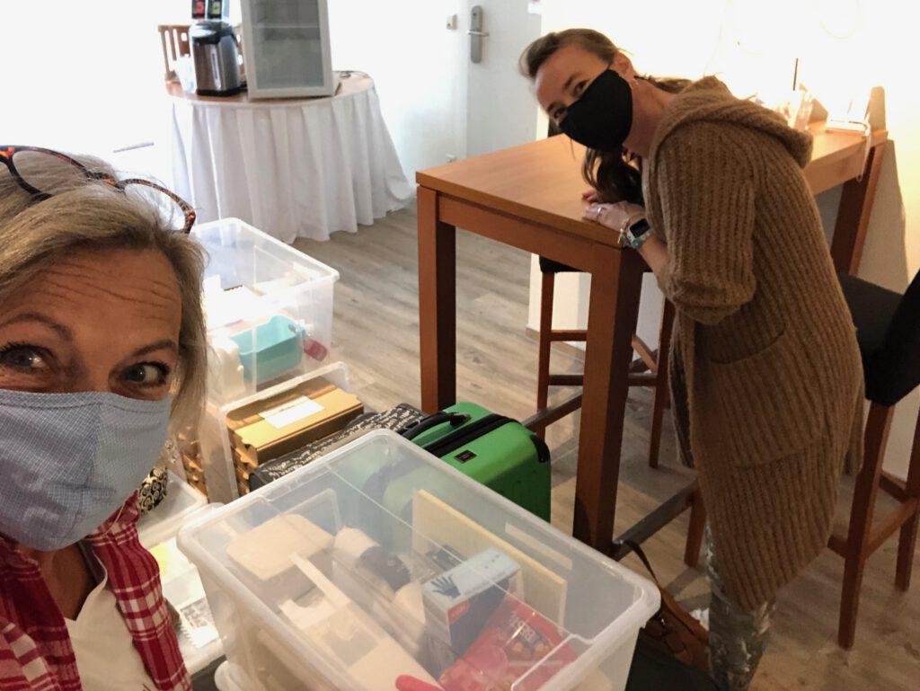 Vorbereitungen Workshops Crop Am Rhein 2020