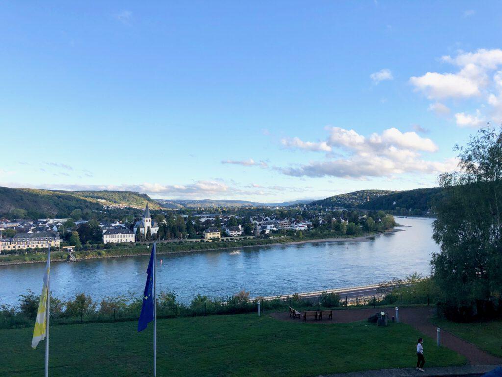 Hotel Haus Oberwinter Remagen Ausblick Crop Am Rhein 2020