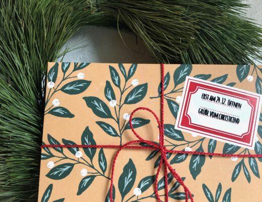 Gutschein Scrapbooking-Workshop weihnachtlich